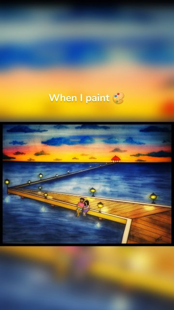 When I paint 🎨